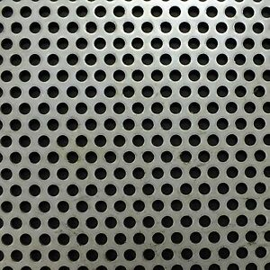 Stainless 316 Perforated Sheet 2m x 1m x 1mm R3 T5 BIN97 - 523110032