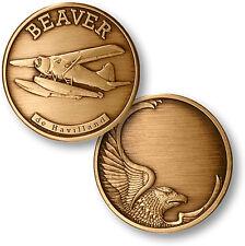 de Havilland Canada DHC-2 Beaver - Bronze Challenge Coin