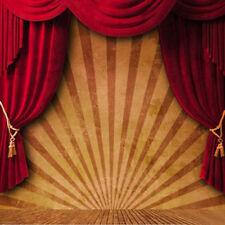 300x300cm Fotostudio Hintergrund Hintergrundstoff Fotohintergrund Zirkus Vorhang