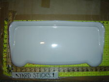 St. Thomas Creations toilet tank lid cover top 6040 22 @ 19.25 x 9.25 WHITE