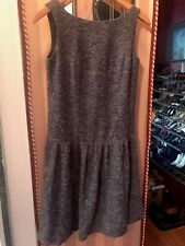 Soft Tweed Anna Sui Dress With Bow Back From Anthropologie