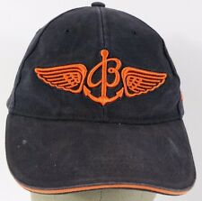 Navy Blue Breitling Pilots Watches embroidered baseball hat cap adjustable strap