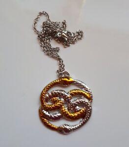 The Neverending Story Snake Necklace never ending