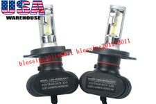 2X H4 CSP LED Headlight Bulbs Replacement Kit High & Low Beam 8000LM 72W 6500K
