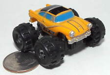 Small Micro Machine Monster Truck 1956 Ford Crown Victoria Skyliner in Yellow