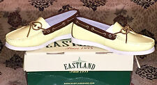 NEW 7.5 EASTLAND Yarmouth Leather Slip On Loafer Boat Shoe Mocs Limited Edition