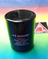 1 x MUNDORF Tube Cap (R) 200µf Electrolytic capacitor for tube amps