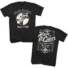 Pink Floyd Have A Cigar Men's T Shirt Gonna Fly High Rock Band Album Concert Top