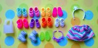 🌈🌈🌈Lot of *10 Pairs*of Barbie Kelly,Chelsea and Tommy doll shoes*NEW*💚💚💚