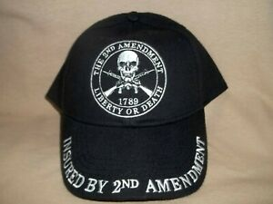 2nd Amendment, Insured by 2nd Amendment Colorful, 100% Cotton Ball Cap
