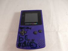 Nintendo Game Boy Color Grape Purple Handheld System (WORKING, TESTED!) #S812