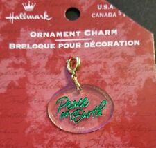 ~Peace on Earth~ New~ MIP~ 99 Cent Auction~ 2000 Hallmark Ornament Charm ~