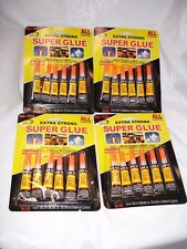 24 (3gr each Tubes of Super Glue Cyanoacrylate Adhesive USA SELLER fast shipping