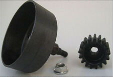 1/5 Baja Rovan HEX Clutch Bell Machined one Pce HD Steel  & 17 T Pinion