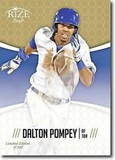 DALTON POMPEY 2014 Rize Draft GOLD *Limited Edition* RC - Only 200 Made!