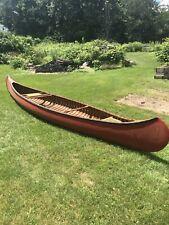 1945 Old Town Yankee Model Canoe Captain Joseph Oconnell Fall River Mass.