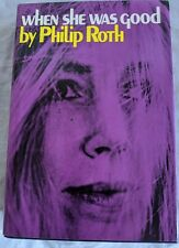 When She Was Good Philip Roth First Edition / First Printing Very Nice Copy BO