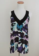 Women's Foral Pattered KENSIE Tank Top Shirt Size Small