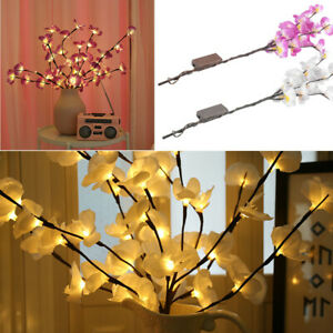 NEW Tree Branch Light Floral Lights Home Festival Party Garden Decor LED llight