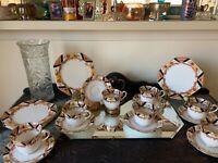 Guaranteed Royal Stafford English Bone China Trio cup, saucer, octagon plate