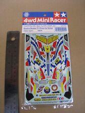 Tamiya Vintage 1/32 mini 4WD Sticker for Shadow Breaker Z-3