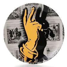 "(NIB) Royal Doulton Street Art  Pure Evil  Bunny Fingers 10.75"" Fine B/C Plate"