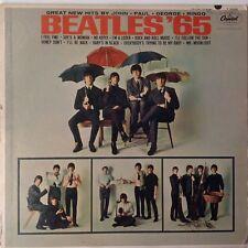 BEATLES '65 LP Mono T-2228 Vinyl Record w/ Insert CAPITOL /LP