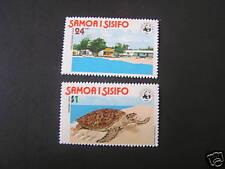 SAMOA, SCOTT # 470/471(2), COMPLETE SET HAWKSBILL TURTLE HATCHERY 1978 ISSUE MNH