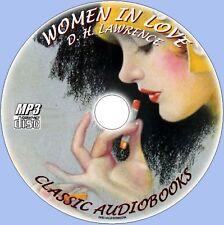 women enamorados D H LORENZO Clásico audiolibro MP3 CD SUPERB íntegro Novedosa