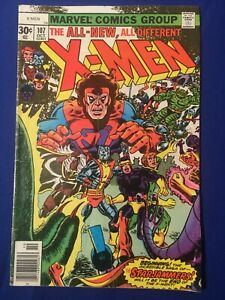 X-MEN #107 Key Bronze 1st Full Appearance of Star Jammers Claremont Cockrum