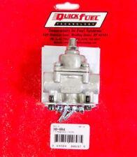Quick Fuel Adjustable Fuel Pressure Regulator Low Pressure  Port Fits Ford Chevy