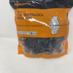Gallagher Wood Post Wide jaw pinlock insulator