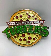 Teenage Mutant Ninja Turtles TMNT Retro Pizza Belt Buckle 2009 Mirage Studios