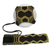 Soccer Football Trainer Kick Throw Practice Solo Training Waist Belt Control UK
