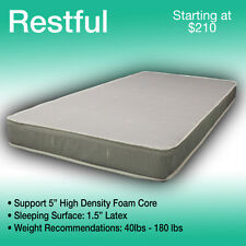 38 x 80 RESTFUL----LUXURIOUS TRUCK MATTRESS----FITS ANY MAKE AND MODEL