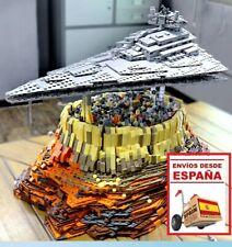 Exclusive Star Wars MOC-18916 The Empire over Jedha City building blocks bricks