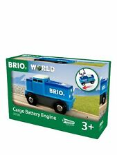 Brio World Cargo Battery Engine 33130 Train