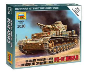 Zvezda 1/100 German Panzer IV Ausf.D Medium Tank Z6151