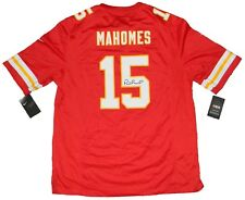PATRICK MAHOMES SIGNED AUTOGRAPHED KANSAS CITY CHIEFS #15 NIKE GAME JERSEY JSA
