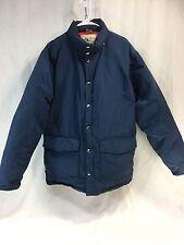 Vintage LL BEAN Signature Mens XL X-Large Goose Down Parka Coat Jacket Blue Puff
