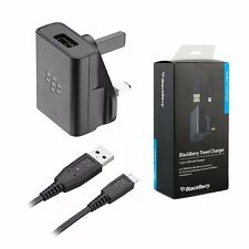 Genuine Mains Charger Micro USB Cable For Blackberry Q10 Q5 Z10 9900 9930 9720