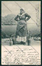Palermo Costumi Siciliani cartolina QQ0883