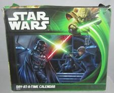 STAR WARS Day at a time Calendar 2014 New in box collectible Dateworks Sealed