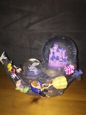 DISNEY CHARACTERS DOUBLE GLOBE WAVE CINDERELLA CASTLE ZIP-A-DEE-DO-DAH DISNEY