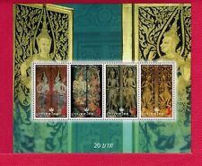 ZAYIX - 2008 Thailand 2353a souvenir sheet MNH - Angels & Demons, Art