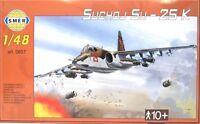 SMER Suchoj Su-25 K,Russisches Erdkampfflugzeug, Bausatz 1:48,0857