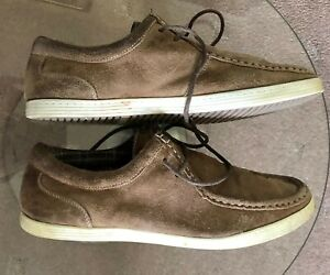 Men's Brown Dice Wallabee Shoes Size 9