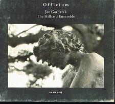 CD album: Officium: Jan Garbarek. the Hilliard Ensemble. ECM. E