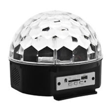 Disco DJ Party Lichteffekt Kugel LED RGB Licht Projektor Beleuchtung Discokugel