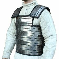Medieval Renaissance Lemellar Roman 20g Scale Armor Battle Vest Large